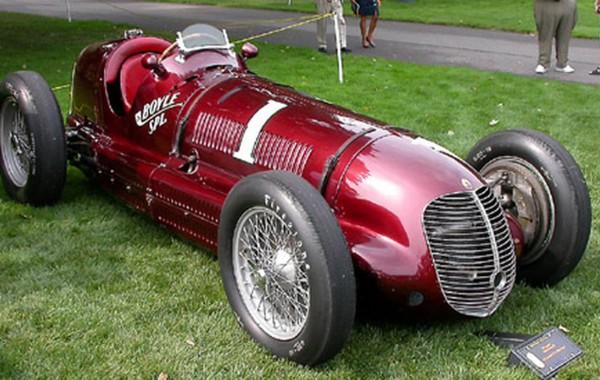 1936 Maserati Racing Car