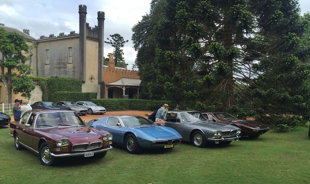 2015 – November 8th. Vaucluse House Concours & Picnic