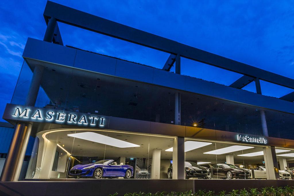 Committee meeting McCarrolls Maserati Artarmon