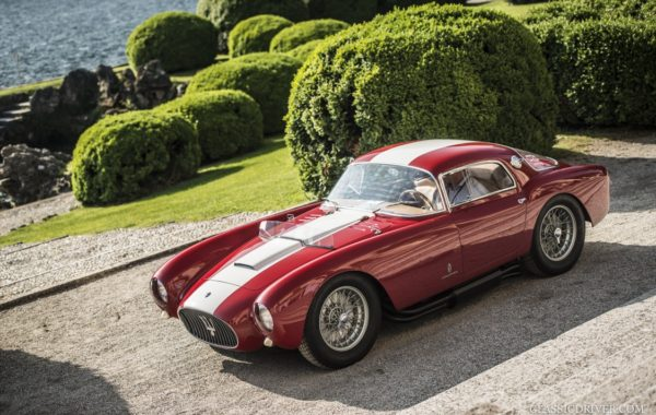 Maserati A6 GCS voted 'Best in Show' at Villa d'Este 2016