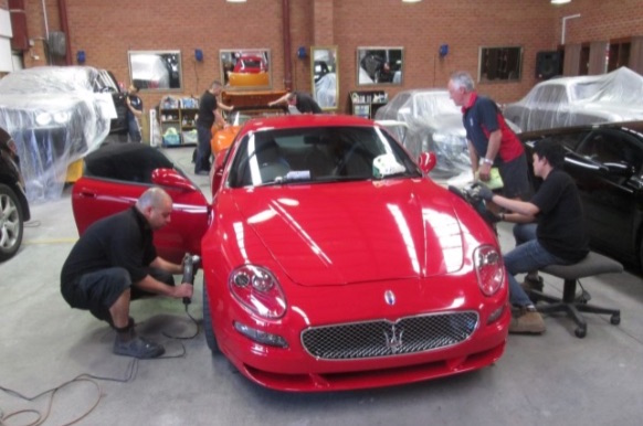 Maserati Day Spa 2016 –  get your car ready for Concours