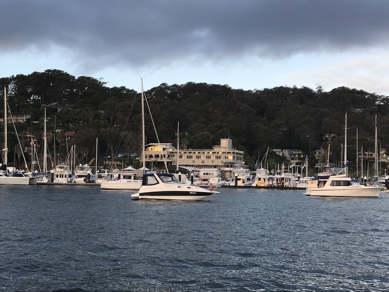 Breakfast Run to the Royal Motor Yacht Club Broken Bay