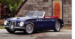 Maserati A6G/2000 Spider sold at auction, January 2019.