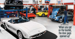 Restoration of a Maserati Ghibli Spyder SS