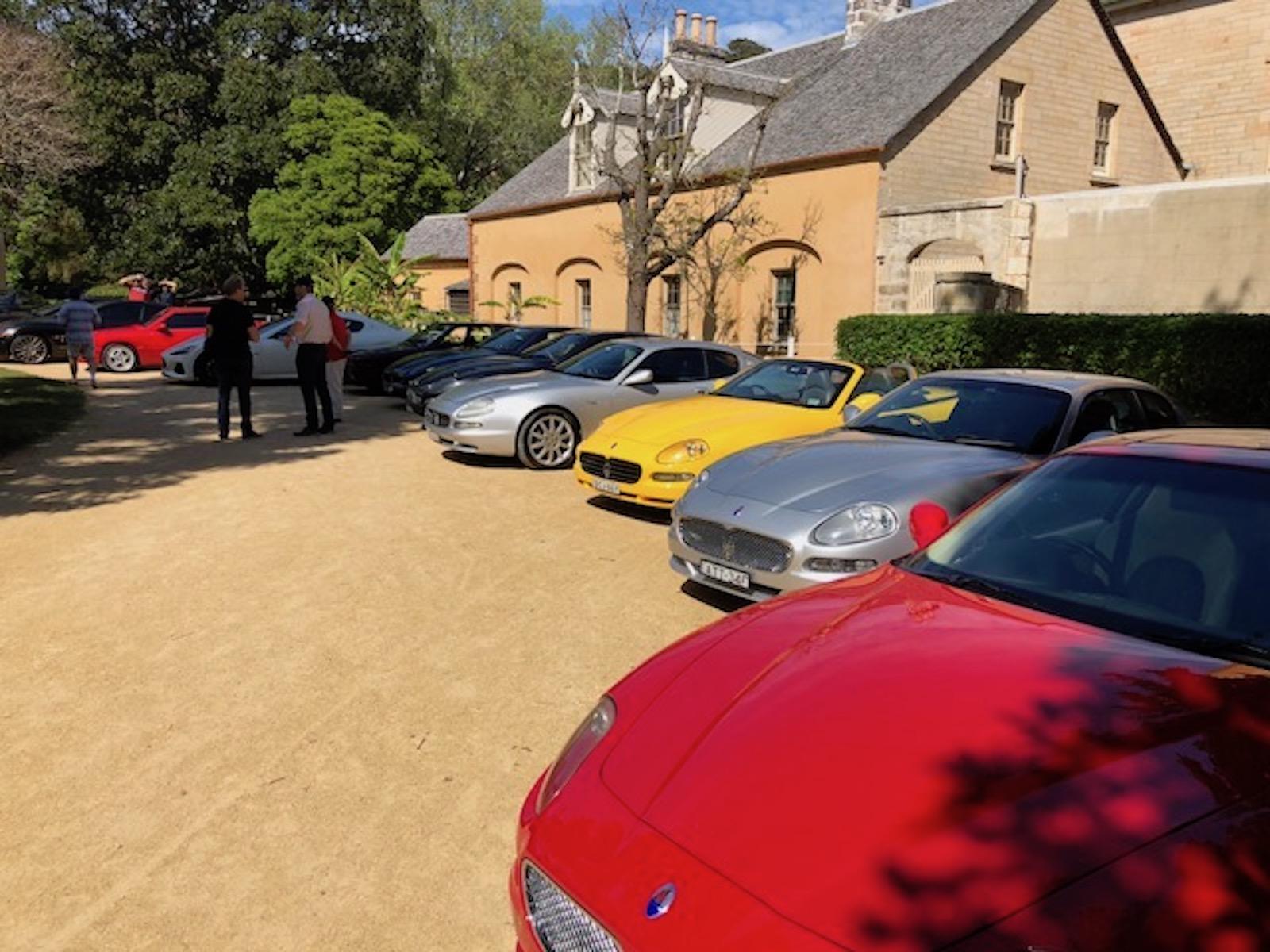 Annual Maserati Club Picnic & Concourse – Hunter Valley